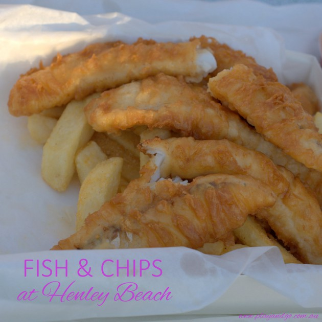 Fish & Chips Stunned Mullet Henley Beach
