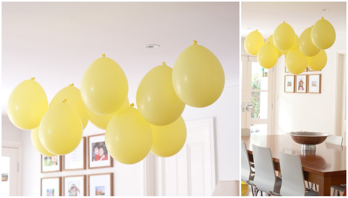 Floating Balloons From The Ceiling Party Idea What S On