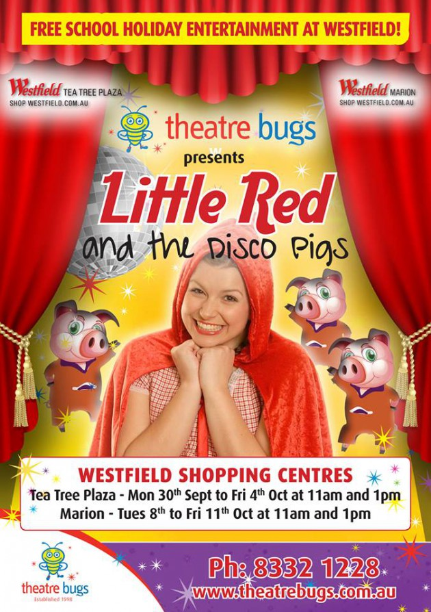 Theatre Bugs disco red