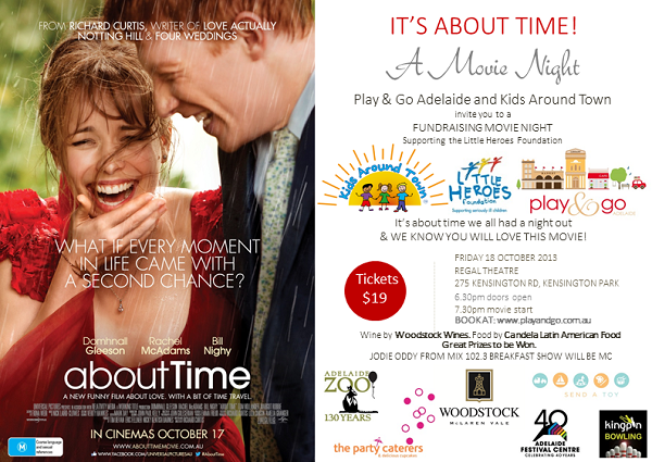 About Time Movie Night Invitation 10