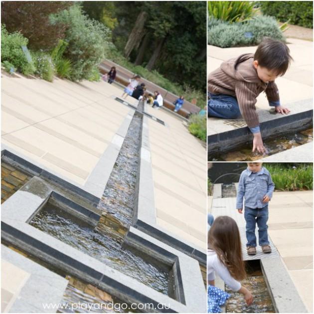 Botanic Gardens water feature