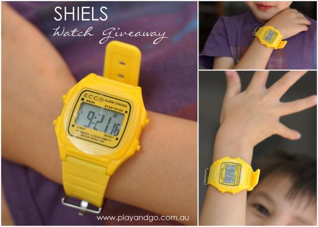 Shiels watch giveaway