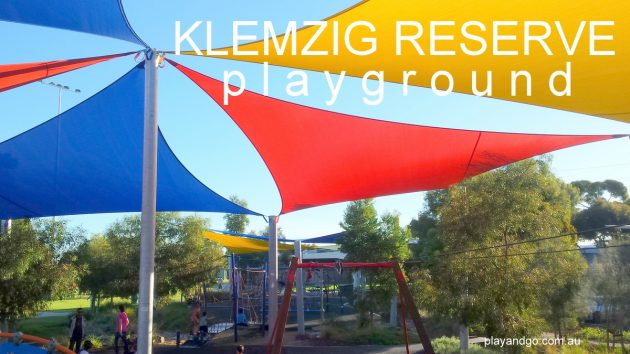 klemzig recreation reserve playground shade