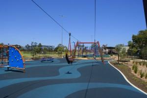 klemzig playground harness flying fox