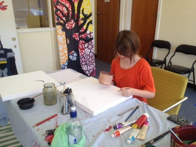 our port art workshop