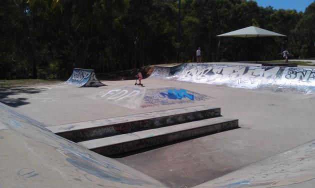 Campbelltown skate park 1