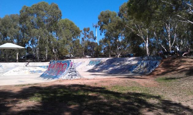 Campbelltown skate park 4