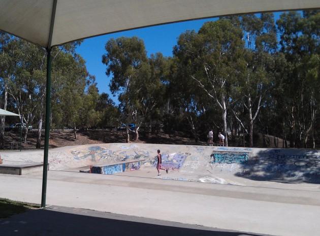 Campbelltown skate park 3