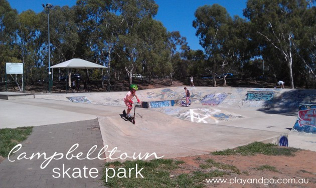 Campbelltown skate park cover