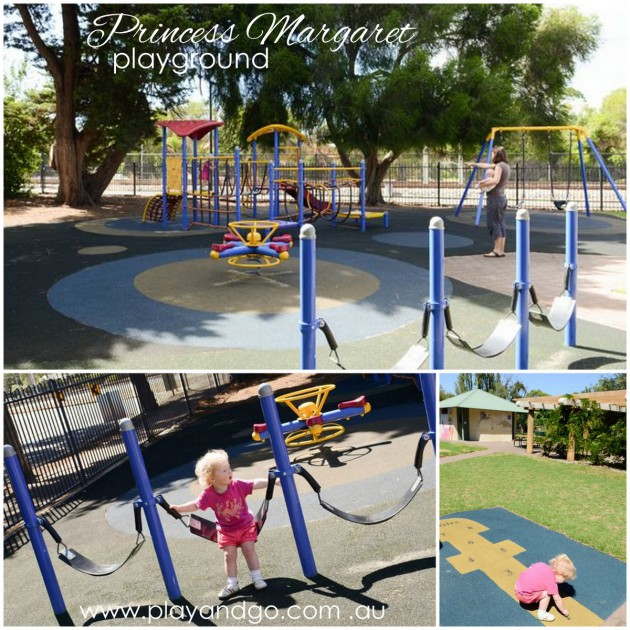 Where to go to see trains in Adelaide - Princess Margaret Playground