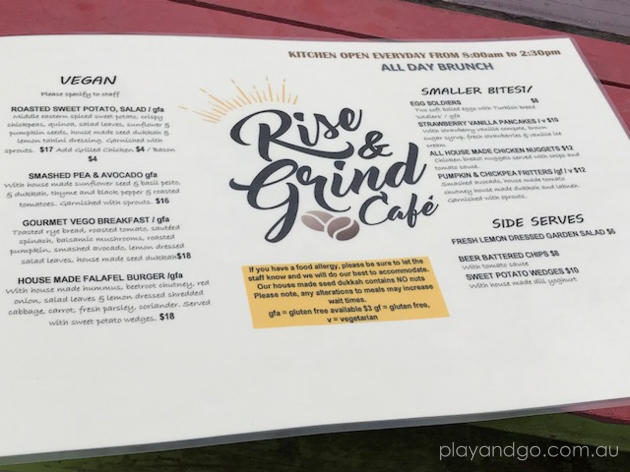 Rise and Grind cafe review by Susannah Marks