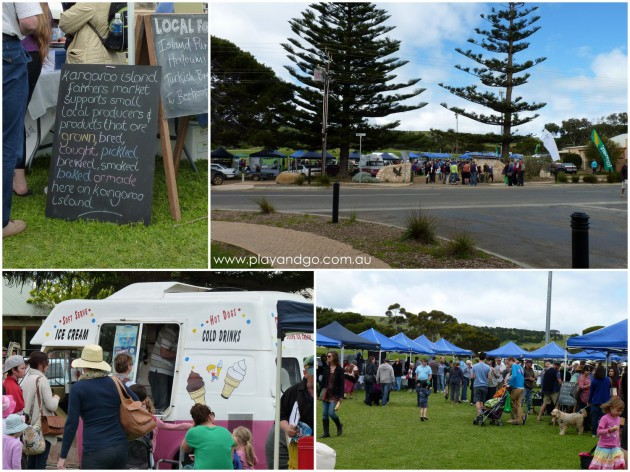 Kangaroo Island Family Holiday Penneshaw Markets