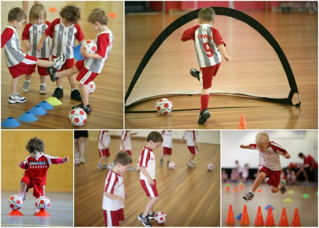 Little Kickers collage aug 14