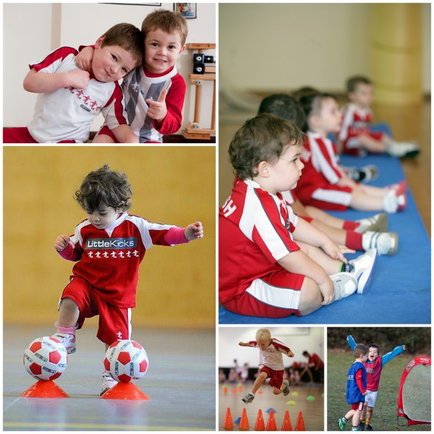 Little Kickers Collage1