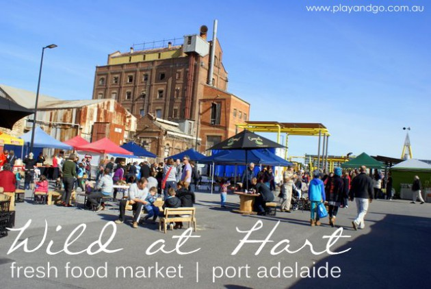 Wild at Hart Market Pt Adelaide