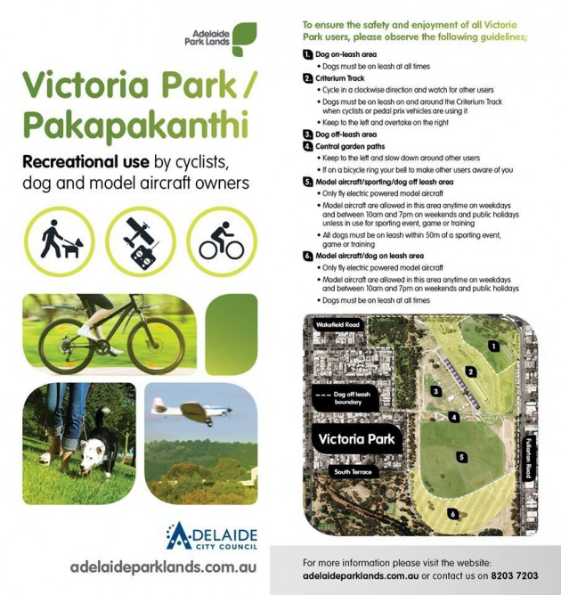 Vic Park Official Guide 2014