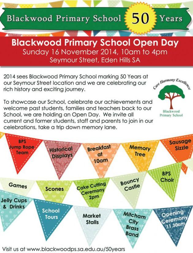 blackwood-ps-open-day-nov2014