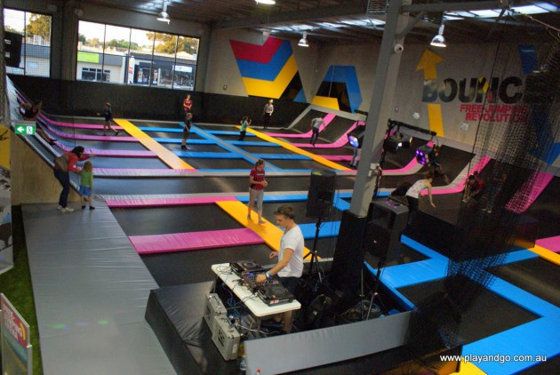 Review of Bounce Adelaide indoor trampolining