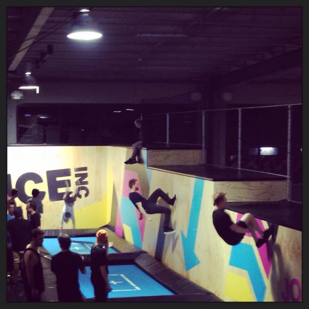 Review of Bounce Adelaide indoor trampolining - bounce pros