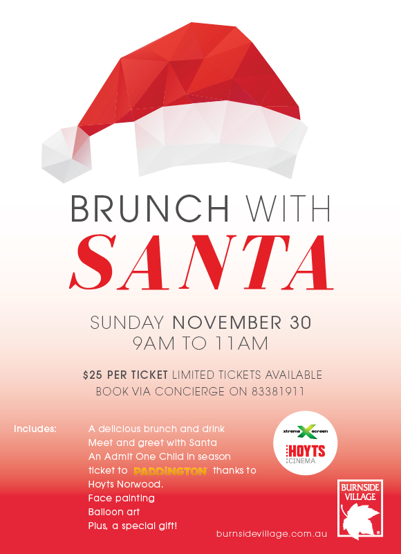 brunch with santa burnside 2014