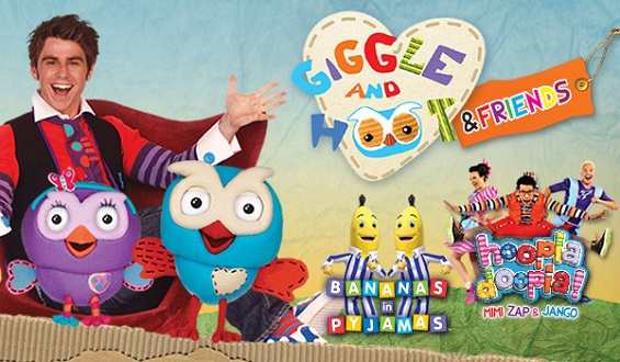 Giggle And Hoot Amp Friends Live On Stage 11 Amp 12 April