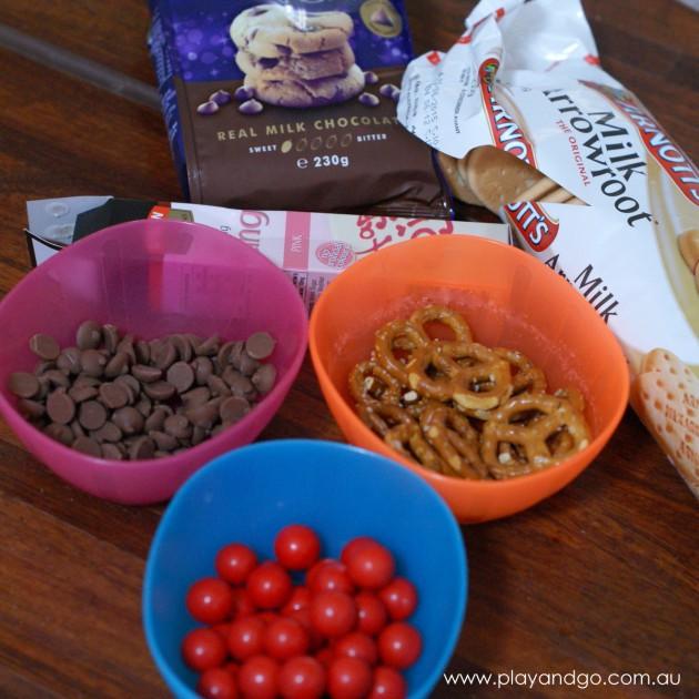 Reindeer biscuits ingredients