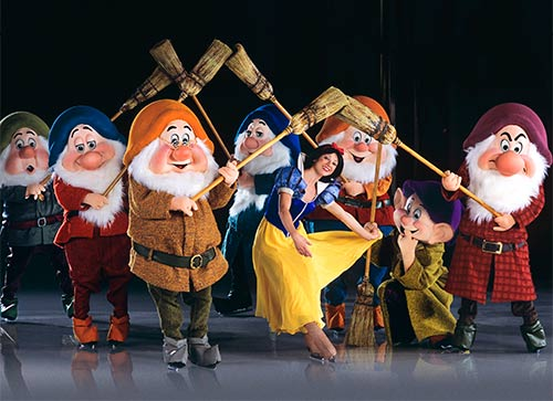 disney on ice dare to dream snow white