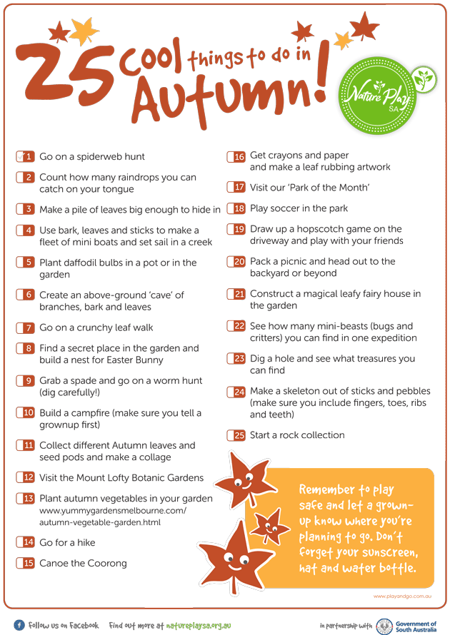 25Things_AutumnList2015