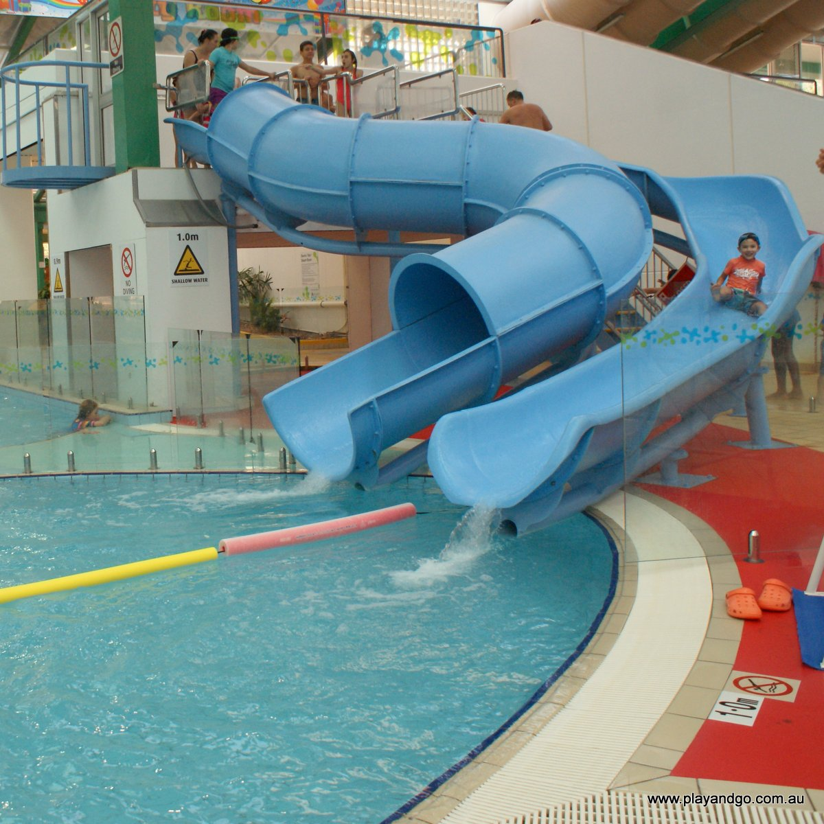 Adelaide aquatic centre north adelaide a look at the - Swimming pools with slides north west ...
