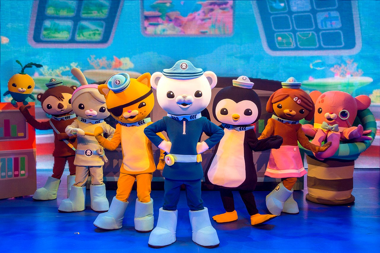 Ended Win Tickets To Octonauts Live Operation Reef