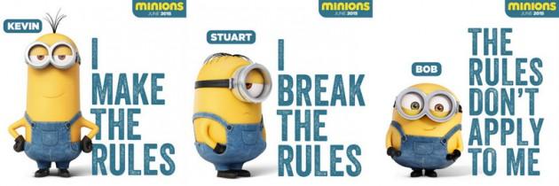 Minions! Meet Stuart, Kevin and Bob | Opens 18 June 2015
