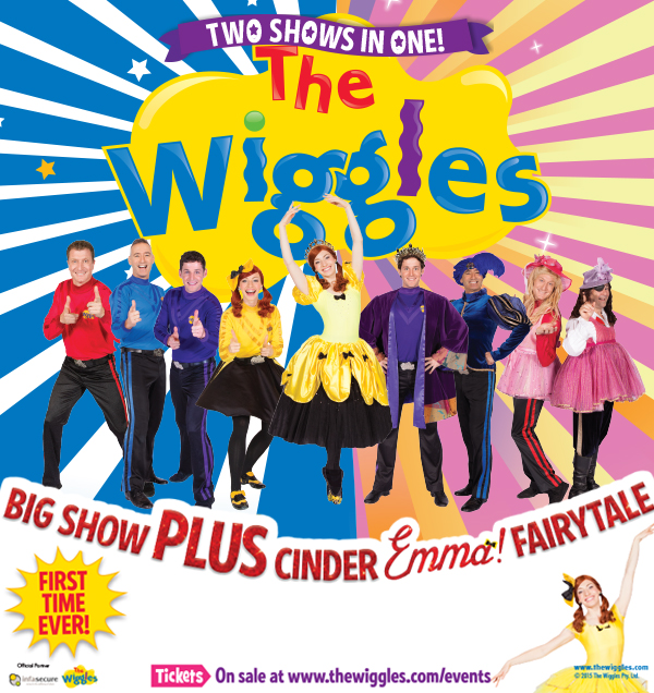 The Wiggles - Big Show PLUS Cinder Emma! Fairytale | 29 Nov 2015