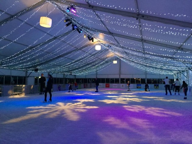 winter wonderland 2015 ice rink