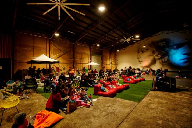 Pictures at Our Port flour mill bean bags