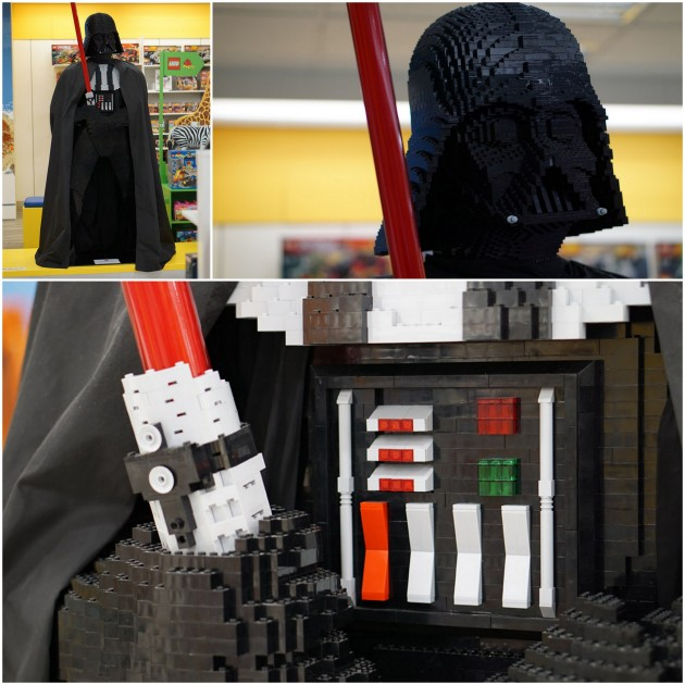 Lego Stops - Ben Teoh LEGO Darth collage