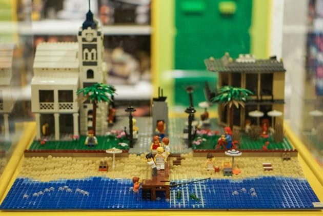 Lego Stops - Ben Teoh LEGO Moseley Square