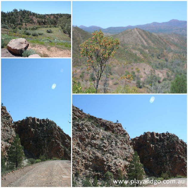 Gorge Driving Flinders Ranges