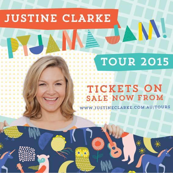 Justine Clarke concert Nov 15