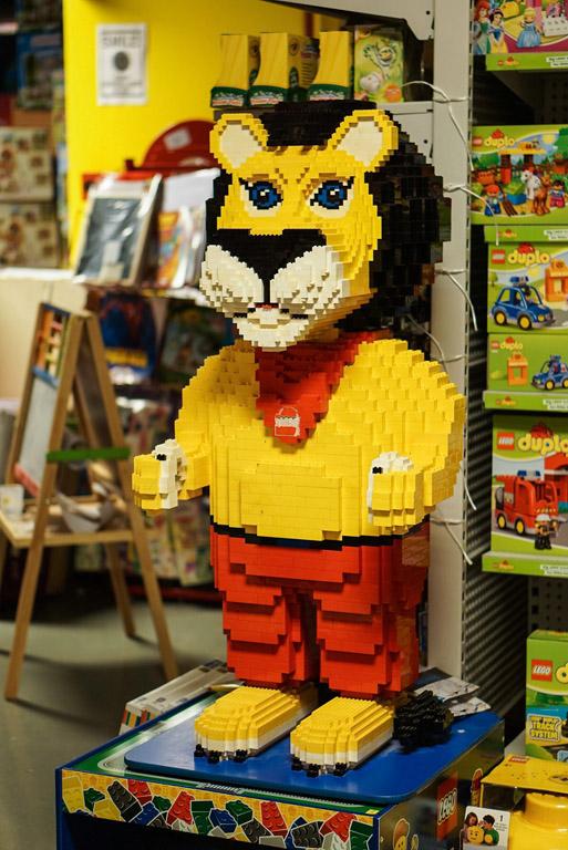 Lego Stops - Ben Teoh LEGO Lion