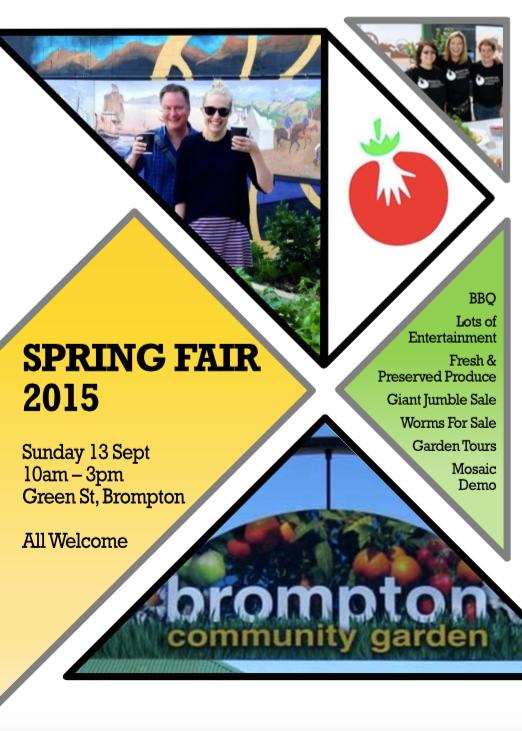 Brompton Community Garden Spring Fair