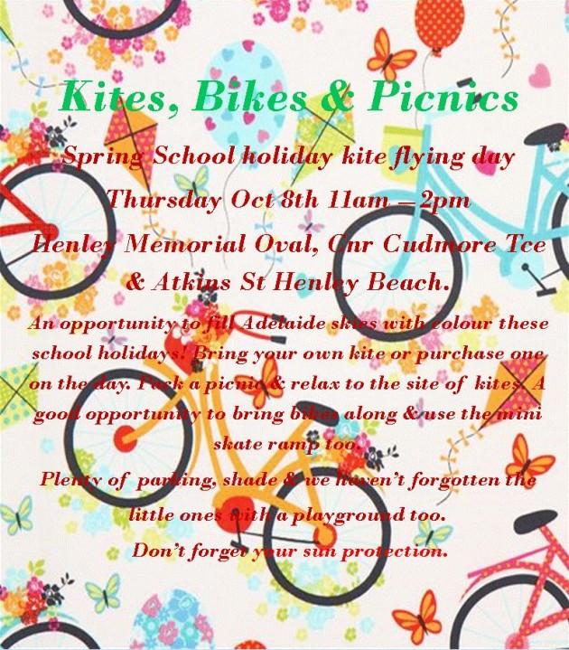 Kites bikes picnis event 1