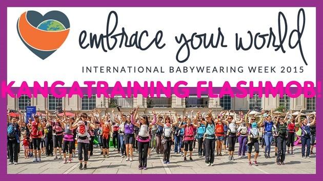 flashmob babywearing week