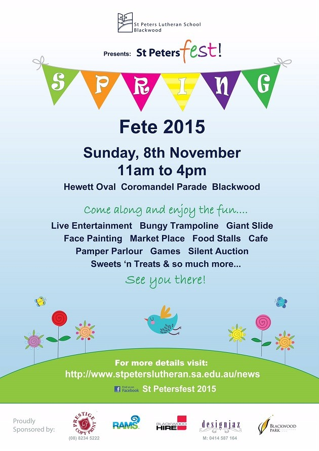 St Peters Spring Fete 2015 A4