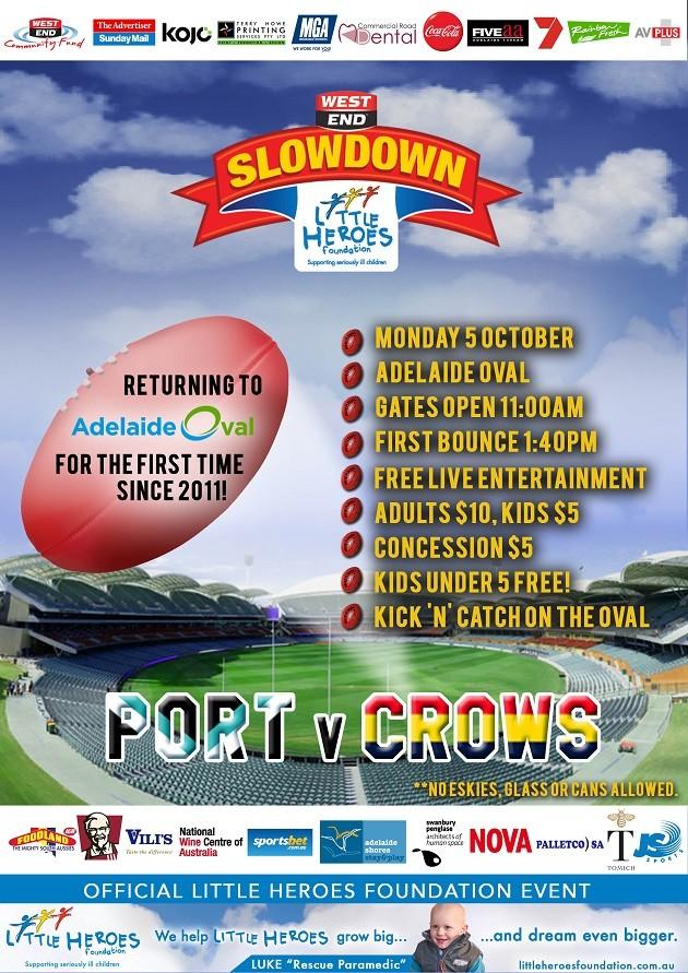 slowdown flyer
