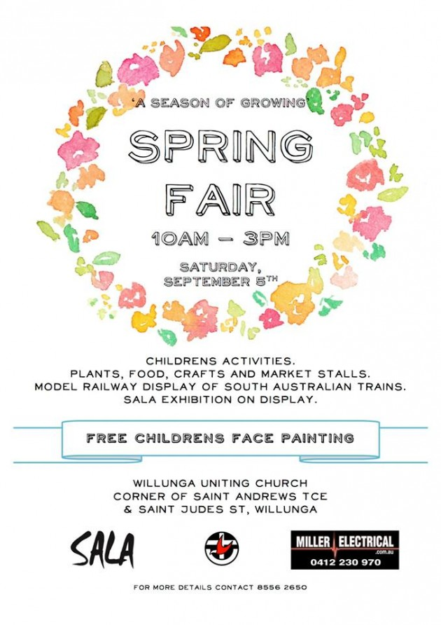 willunga spring fair