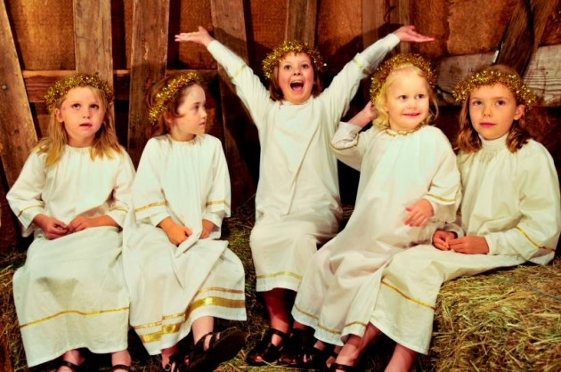 Lights of Lobethal Christmas Festival: living nativity