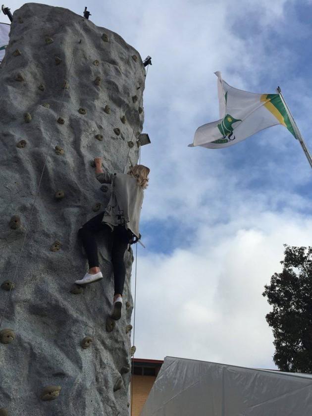 Marryatville climbing wall