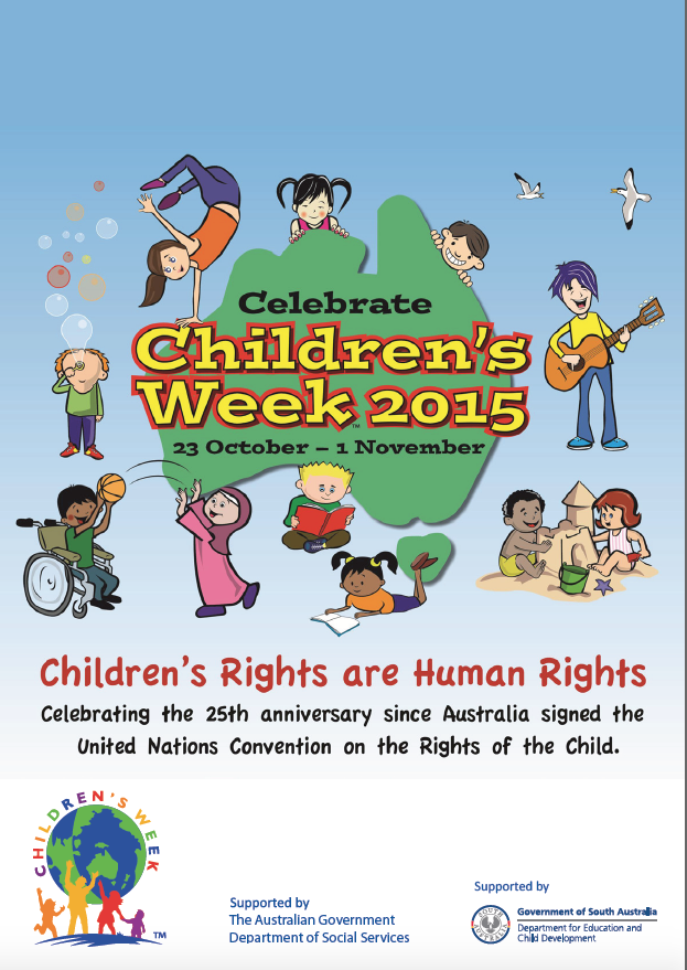 children's week poster