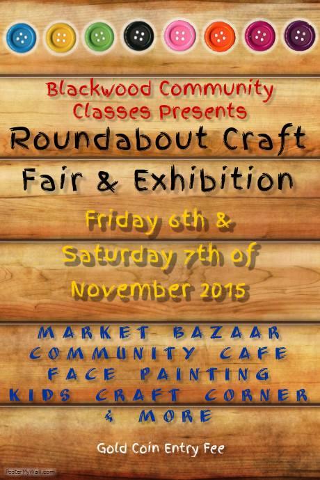 blackwood community classes craft fair and exhibition