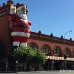 Father Christmas at Central Market 2015
